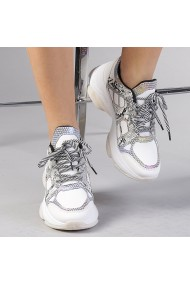 Pantofi sport dama Genoveva albi