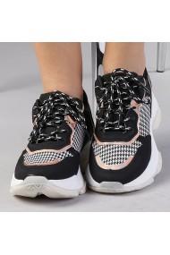 Pantofi sport dama Flora negri