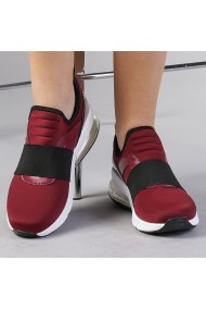 Pantofi sport dama Gilda grena