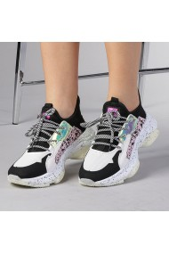 Pantofi sport dama Roberta albi