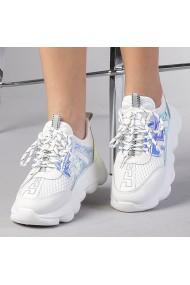 Pantofi sport dama Rica albi