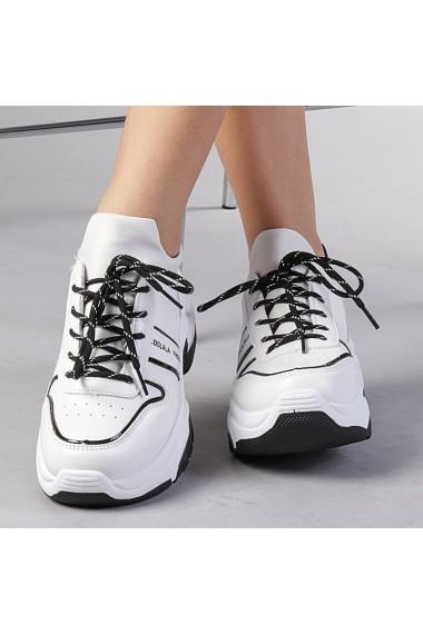 Pantofi sport dama Rozalia albi