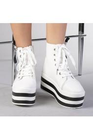 Pantofi sport dama Romina albi