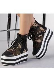 Pantofi sport dama Romina verzi