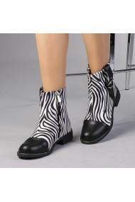 Botine dama Cipriana zebra