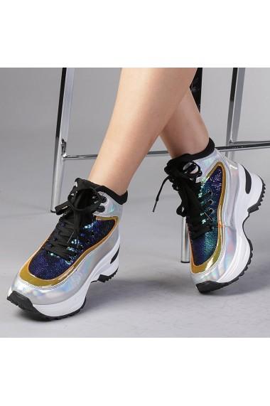 Pantofi sport dama Emanuela albastrii