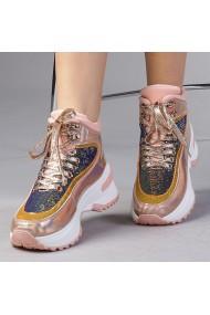 Pantofi sport dama Emanuela champanie