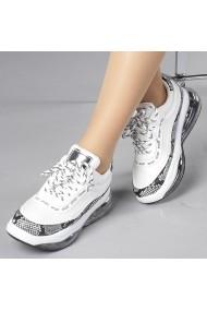 Pantofi sport dama Geea albi