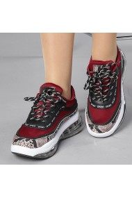 Pantofi sport dama Geea grena