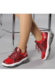 Pantofi sport dama Gafia rosii