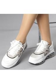 Pantofi sport dama Giulia albi