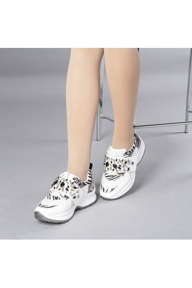 Pantofi sport dama Nona zebra