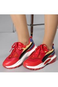 Pantofi sport dama Faiza rosii