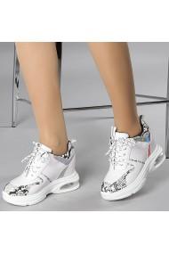 Pantofi sport dama Florice albi