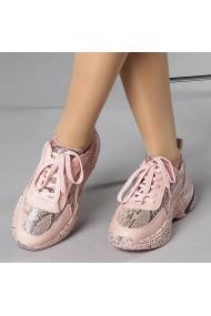 Pantofi sport dama Fatima roz