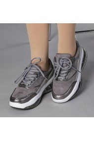 Pantofi sport dama Georgiana gri
