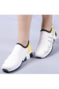 Pantofi sport dama Zasha galbeni