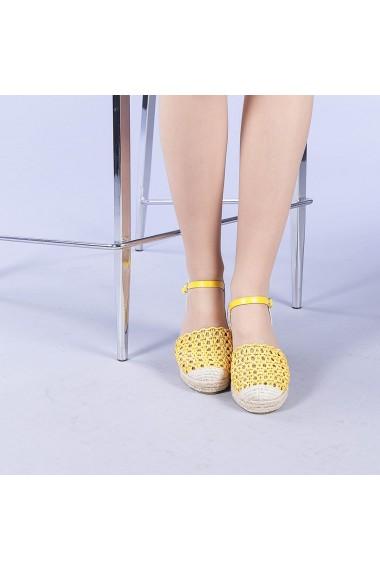 Sandale dama Zaviera galbene