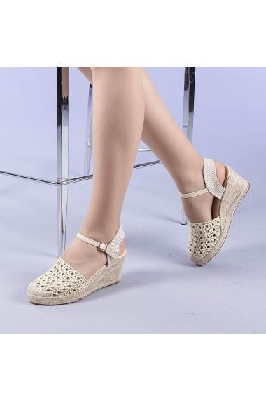 Sandale dama Zaviera bej