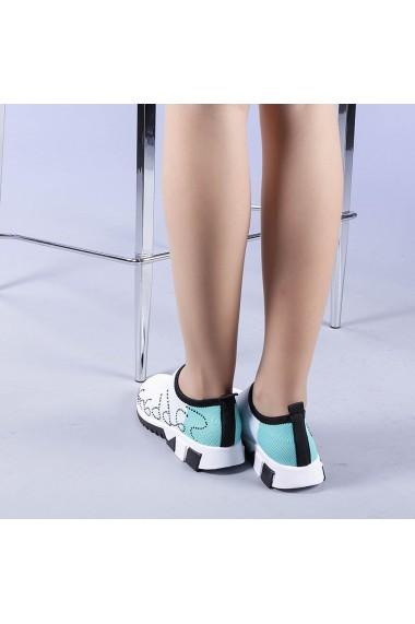 Pantofi sport dama Zasha verzi