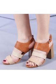 Sandale dama Dimela camel