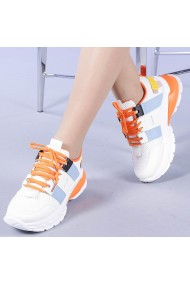 Pantofi sport dama Addie portocalii
