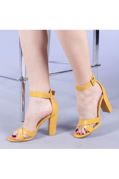 Sandale dama Parker galbene