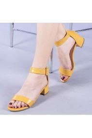 Sandale dama Zvetlana galbene