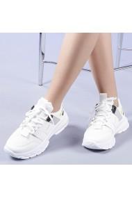 Pantofi sport dama Addie albi