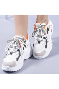 Pantofi sport dama Neena portocalii