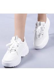 Pantofi sport dama Scarlett albi