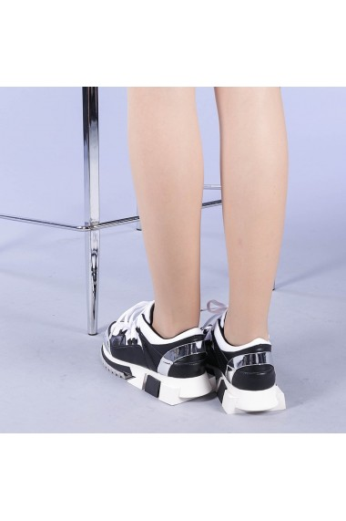 Pantofi sport dama Ramya albi