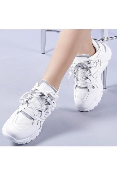 Pantofi sport dama Saima albi