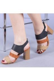 Sandale dama Dimela negre