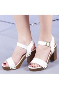 Sandale dama Vladiana albe