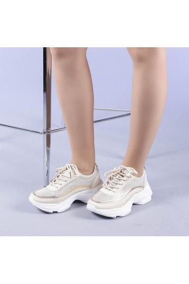 Pantofi sport dama Alima aurii