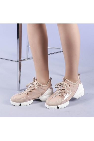 Pantofi sport dama Sonia camel