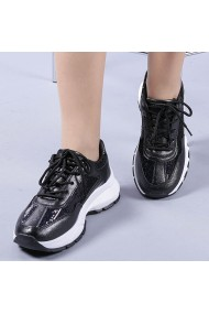 Pantofi sport dama Tazara negri