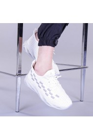 Pantofi sport dama Alexandra albi
