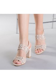 Sandale dama Sanziana apricot