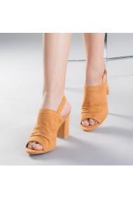 Sandale dama Safta camel
