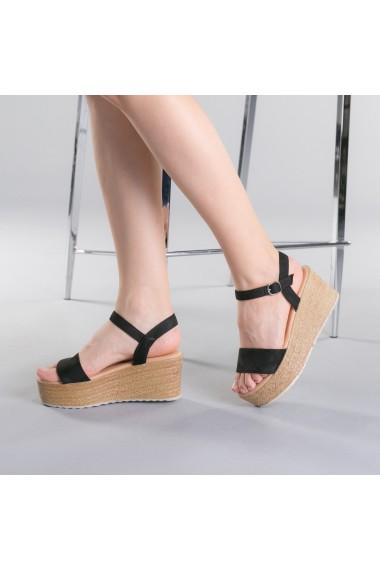 Sandale dama Nona negre