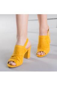 Sandale dama Safta galbene