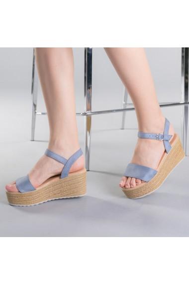 Sandale dama Nona albastre