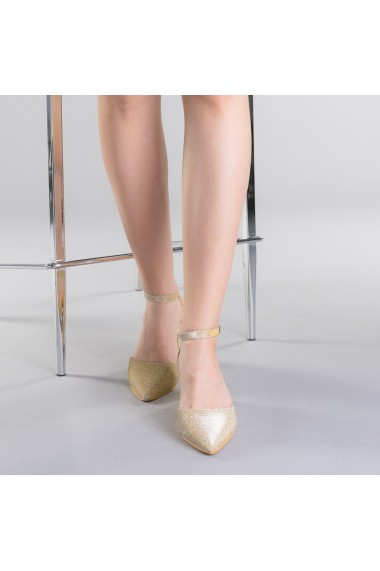 Pantofi dama Sorelia aurii
