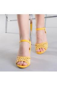 Sandale dama Samanta galbene