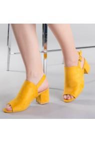 Sandale dama Salomeea galbene
