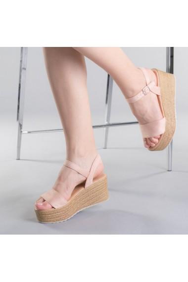 Sandale dama Nona roz