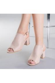 Sandale dama Salomeea apricot