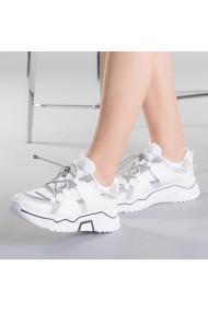 Pantofi sport dama Nicolette albi
